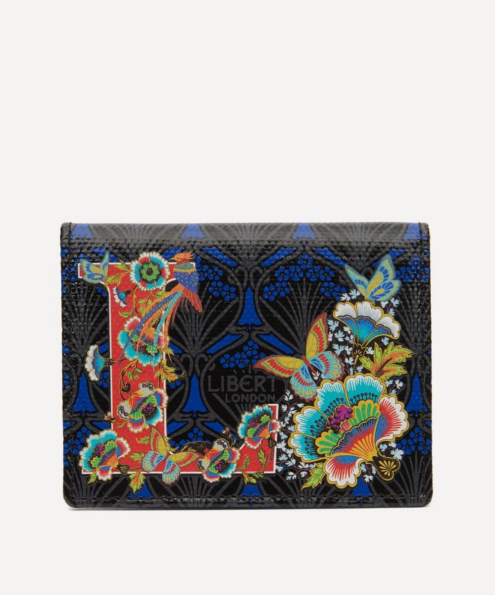Liberty - Alphabet Travel Card Holder in L Print