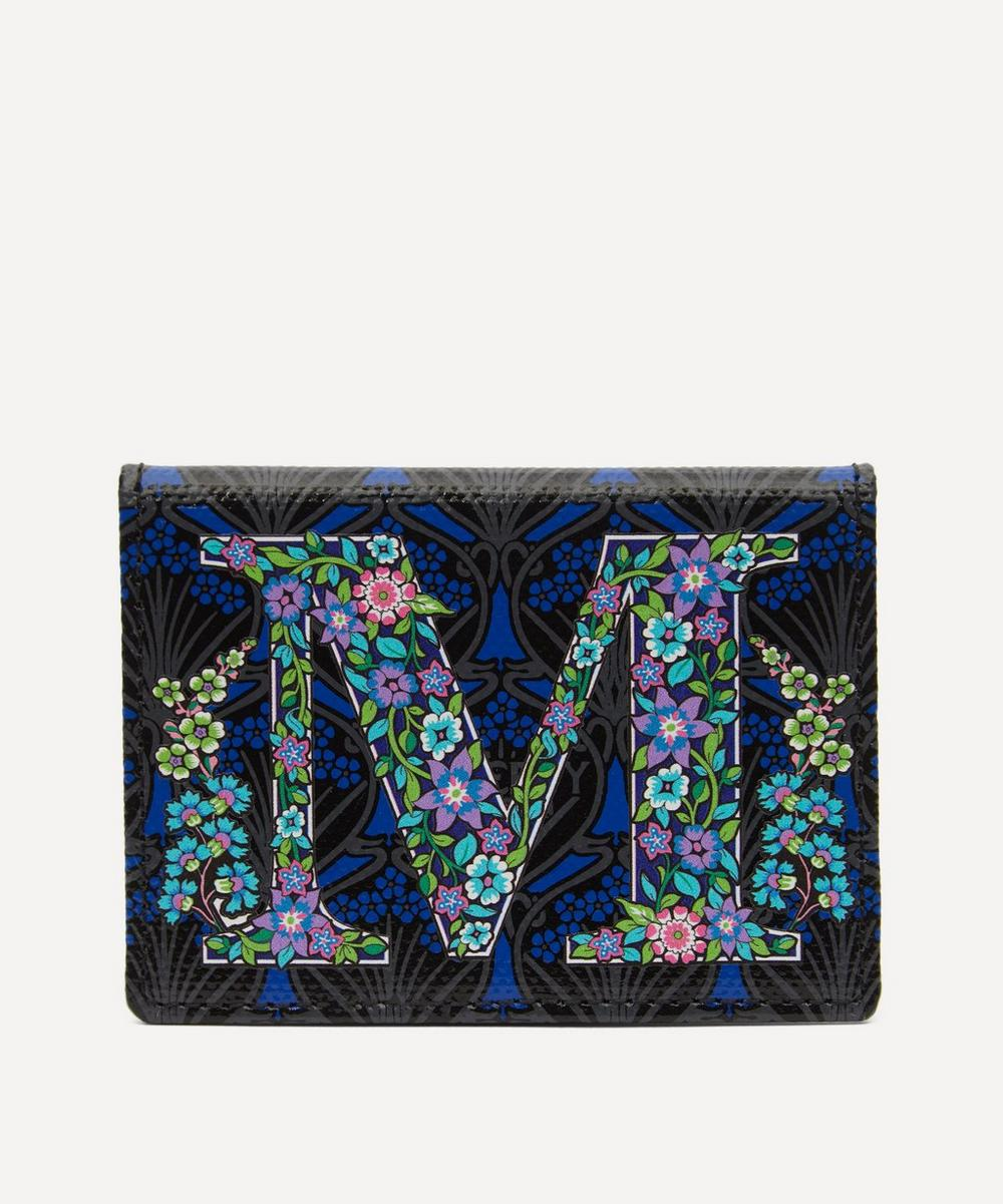 Liberty - Alphabet Travel Card Holder in M Print