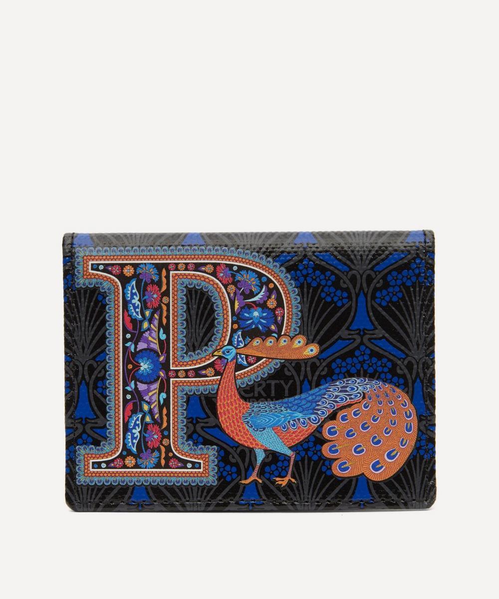Liberty - Alphabet Travel Card Holder in P Print