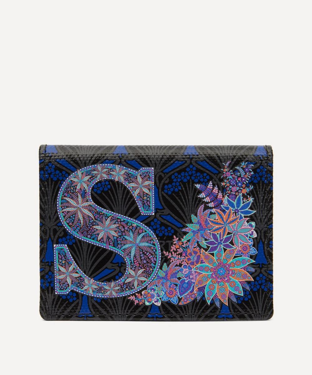 Liberty - Alphabet Travel Card Holder in S Print