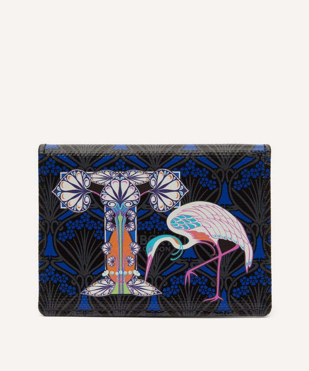 Liberty - Alphabet Travel Card Holder in T Print