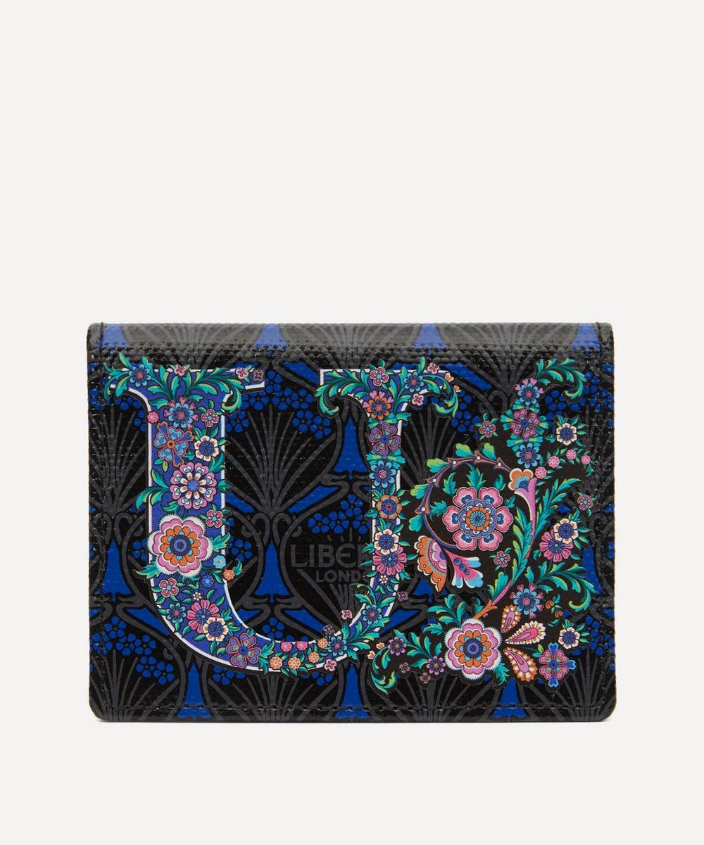 Liberty - Alphabet Travel Card Holder in U Print