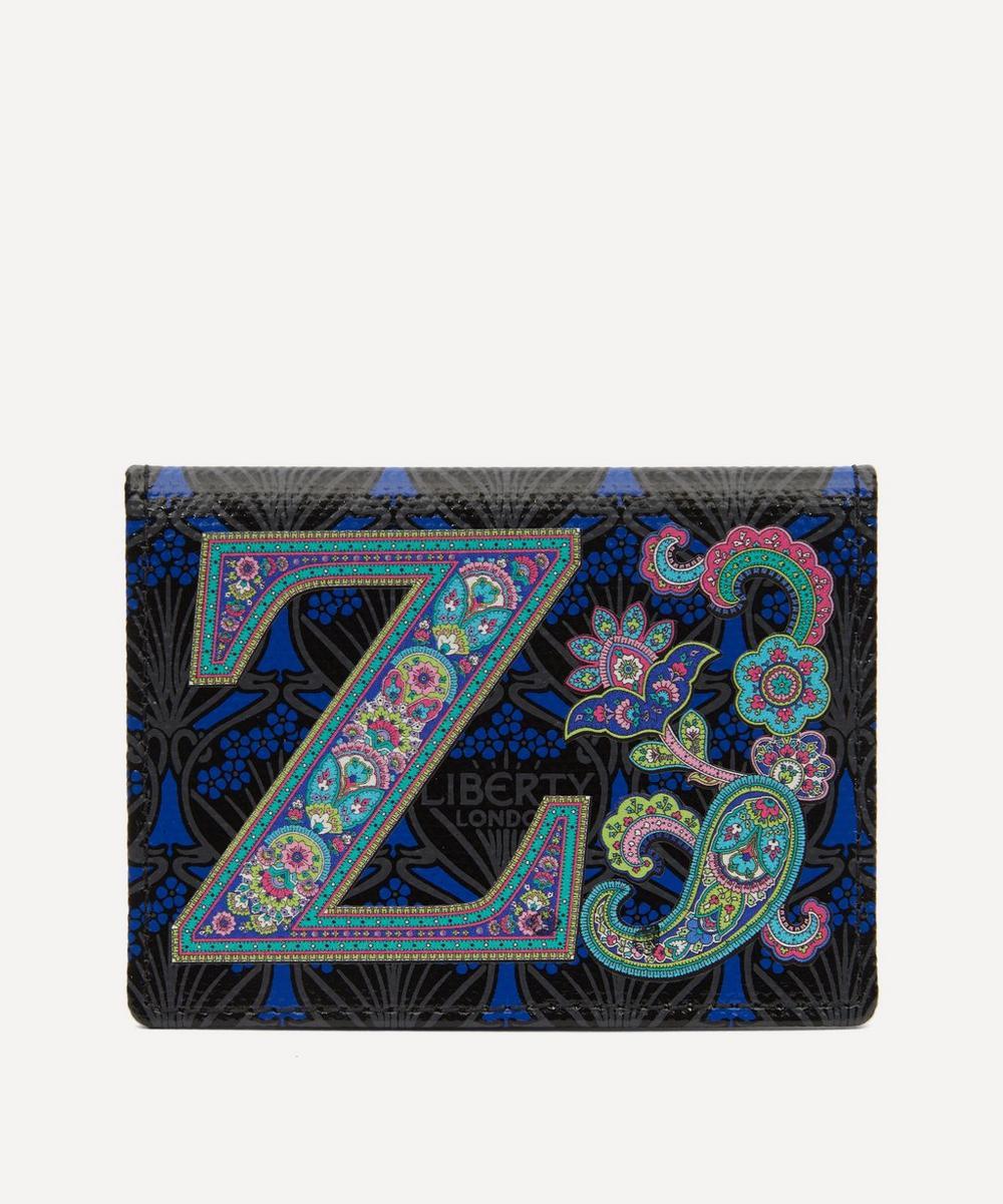 Liberty - Alphabet Travel Card Holder in Z Print