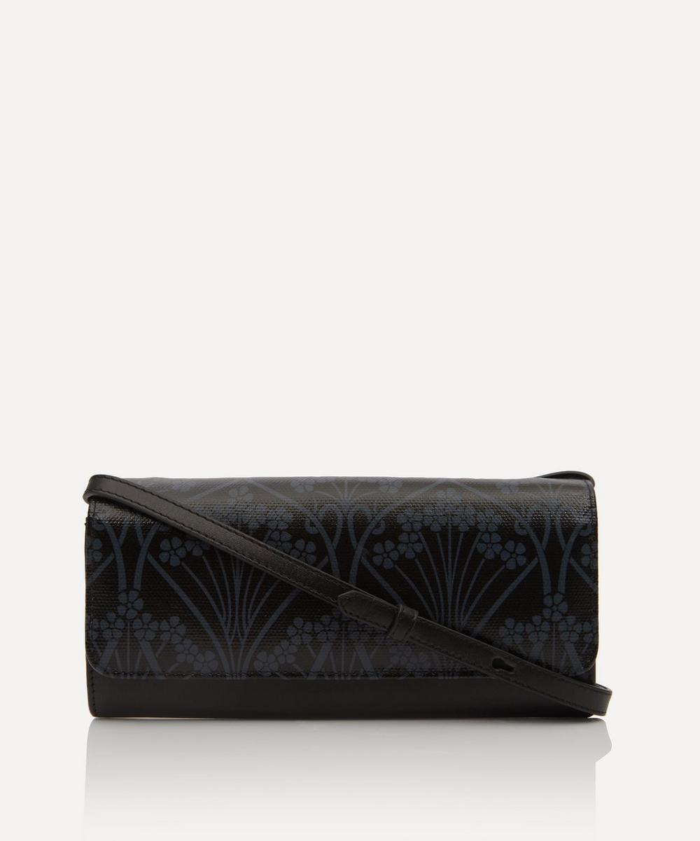 Liberty - Ianthe Coated Canvas Soho Cross-Body Clutch