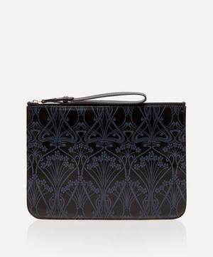 Ianthe Coated Canvas Clutch Pouch