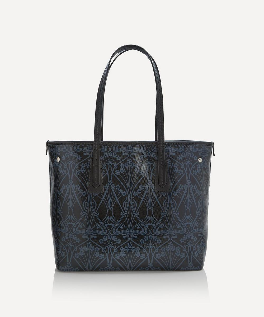 Liberty - Ianthe Coated Canvas Little Marlborough Tote Bag