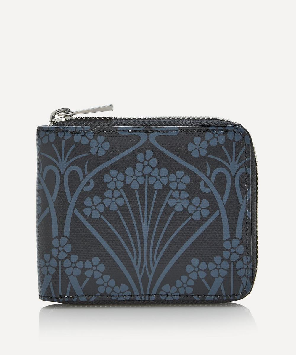 Liberty - Ianthe Coated Canvas Small Zip-Around Wallet