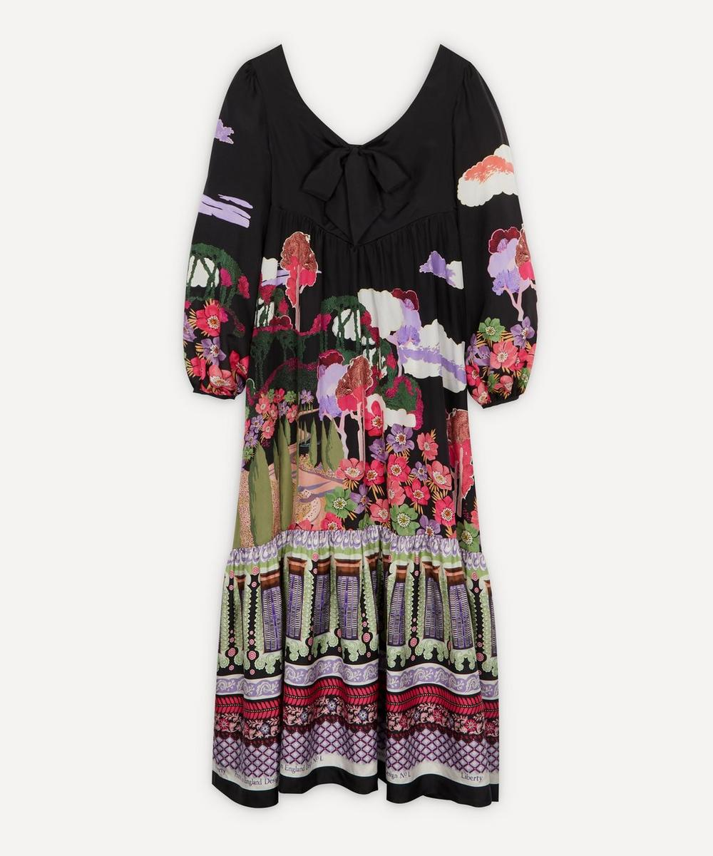 Liberty - Bianca Frida Silk Bow Dress