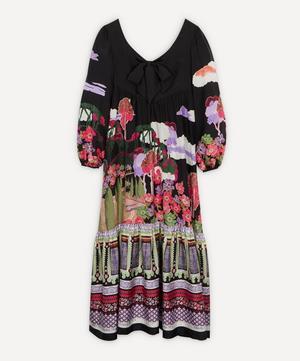 Bianca Frida Silk Bow Dress
