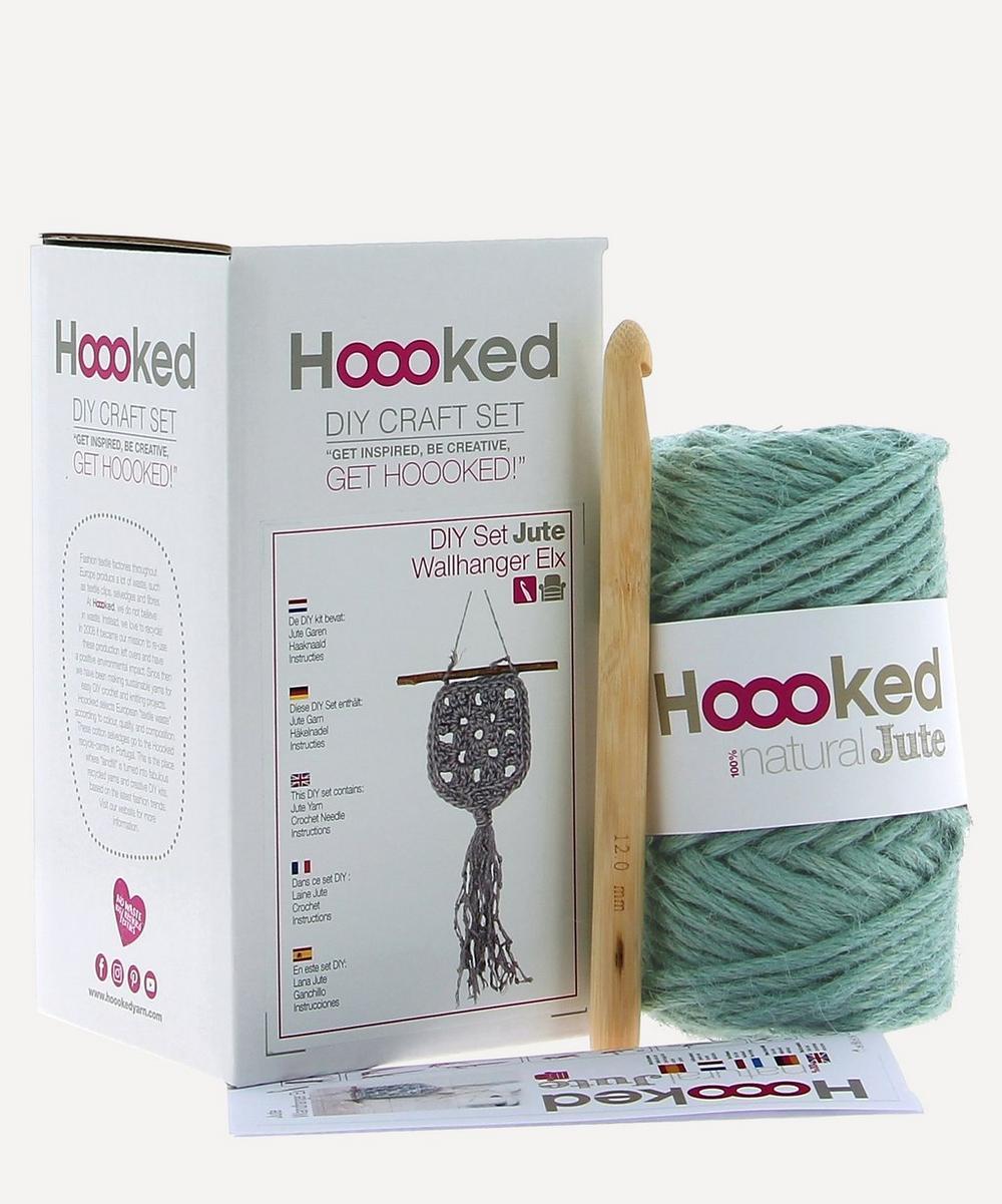 Hoooked - Elx Jute Crochet Wall Hanging