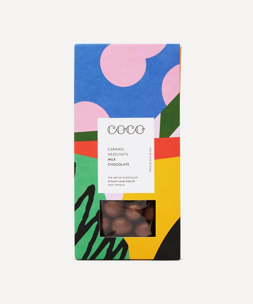 Coco Chocolatier - Cocoa Dusted Milk Chocolate Hazelnuts 130g