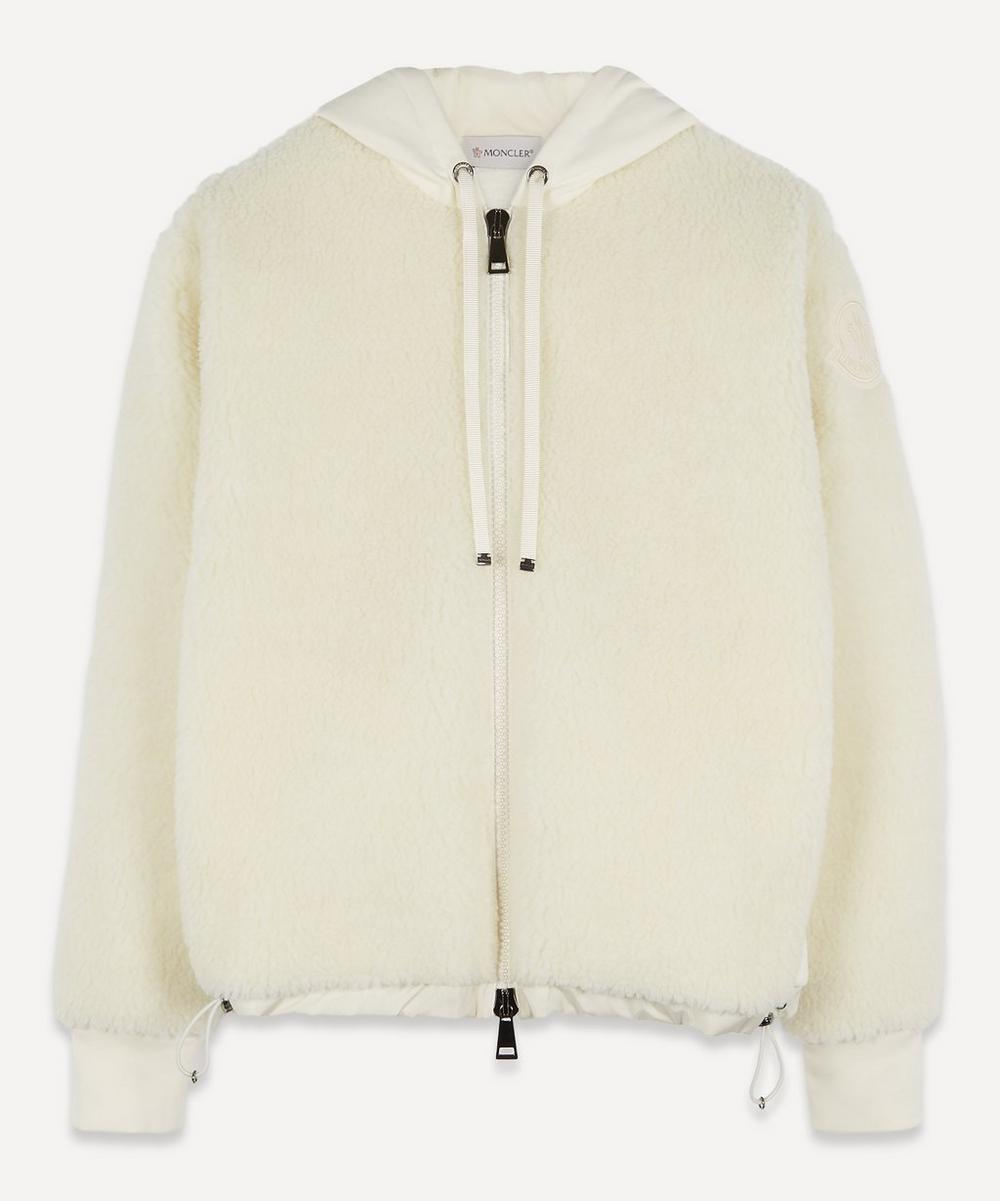 Moncler - Maglia Zip-Up Teddy Hooded Jacket