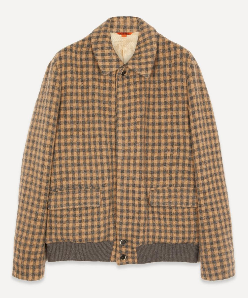 Barena - Button Through Checked Jacket