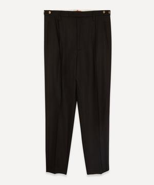 Masco Pleated Tapered Trousers
