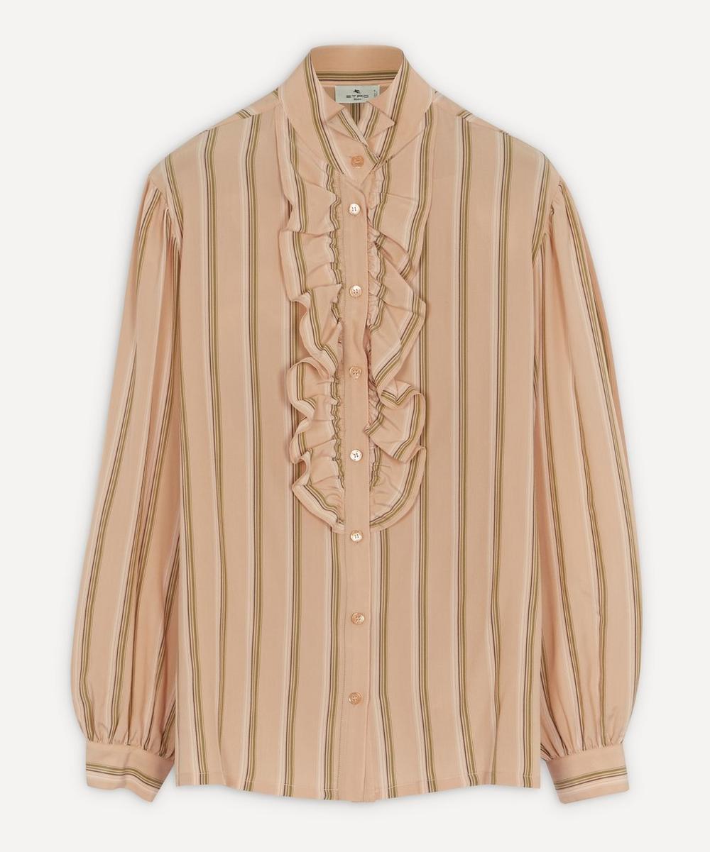 Etro - Striped Silk Shirt