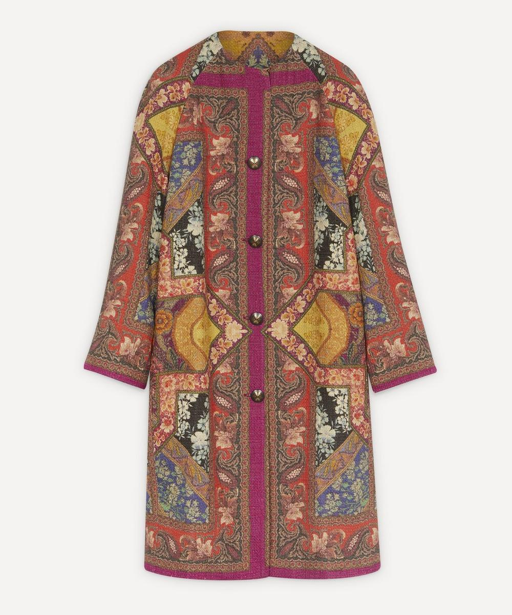 Etro - Patterned Mid-Length Cotton Coat