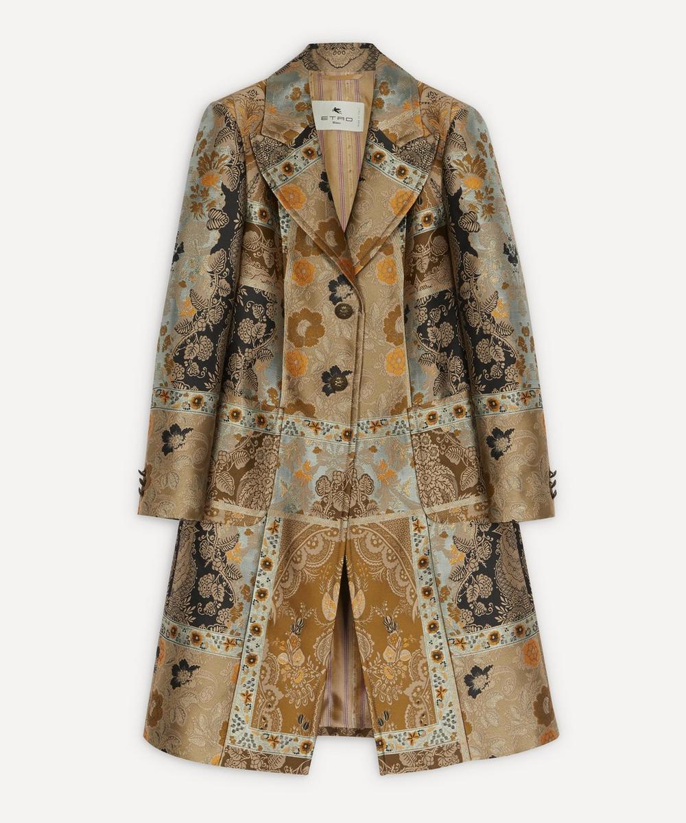 Etro - Patchwork Jacquard Coat