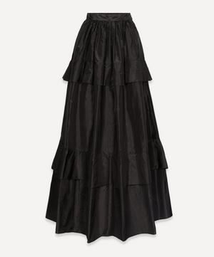Long Taffeta Skirt