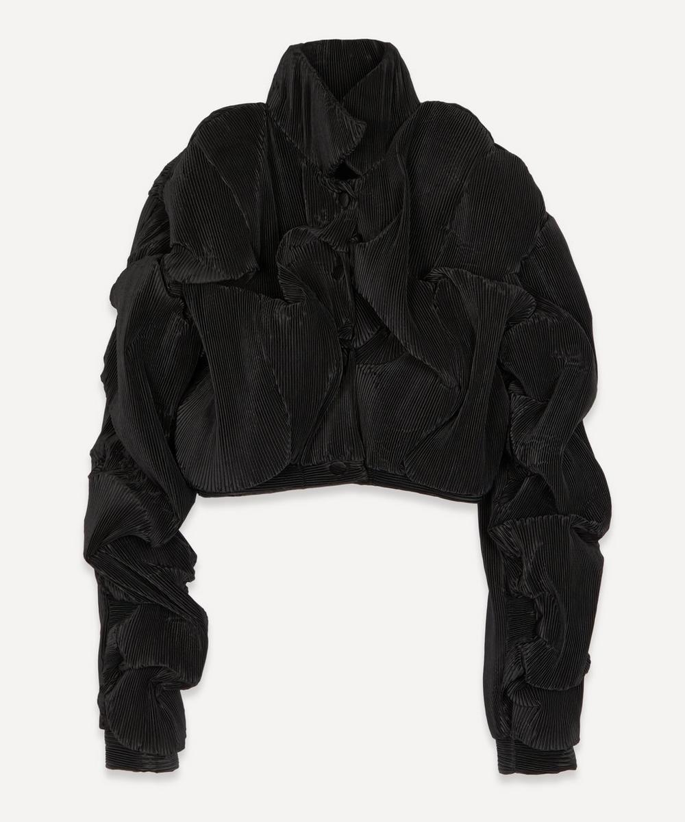 Y/PROJECT - Silk-Blend 3D Wave Jacket