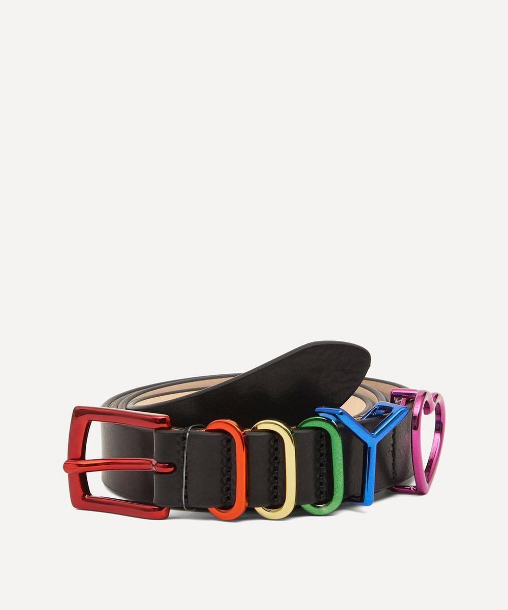 Y/PROJECT - Rainbow Heart Y Belt