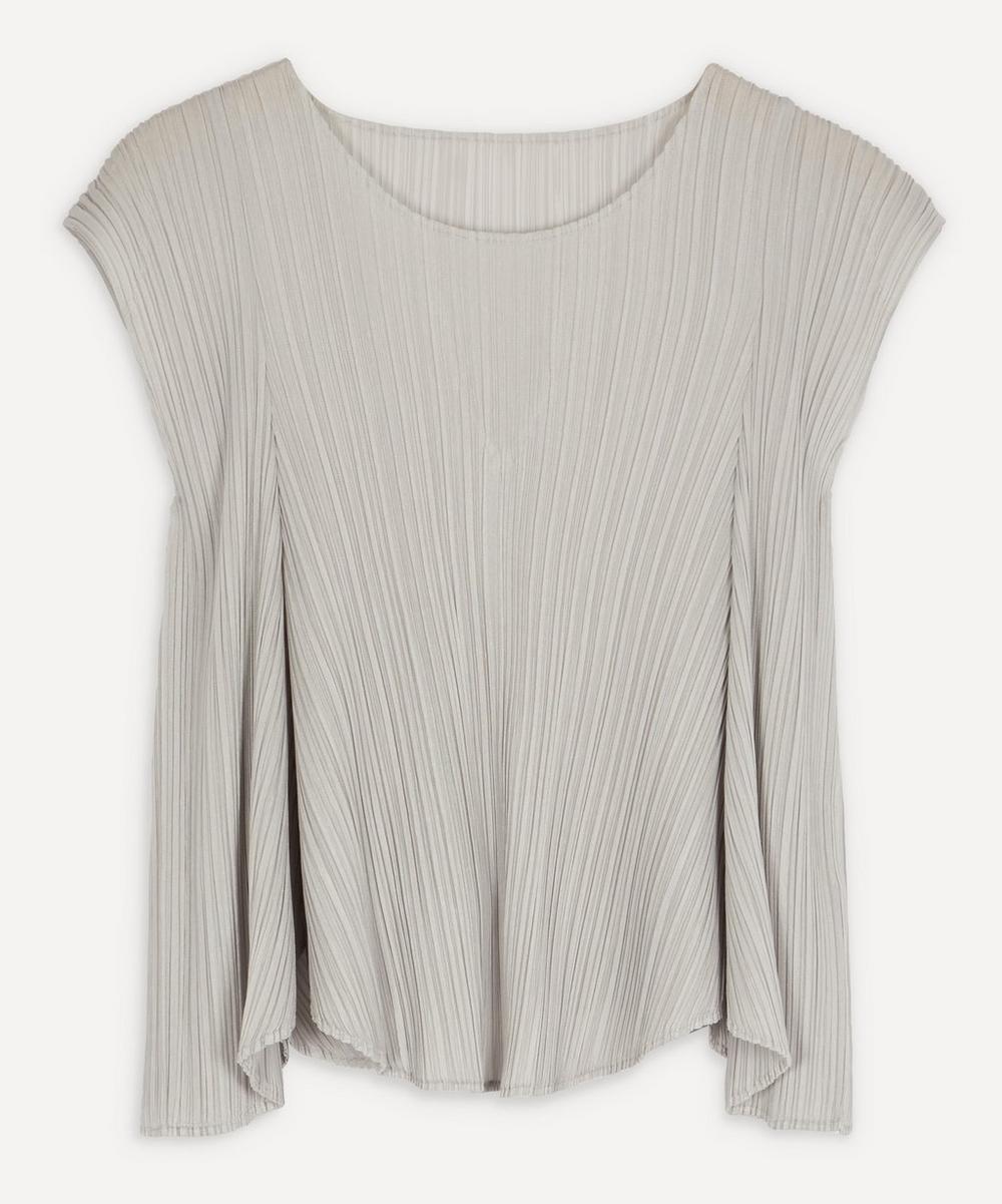 Pleats Please Issey Miyake - Short-Sleeve Scoop-Neck T-Shirt
