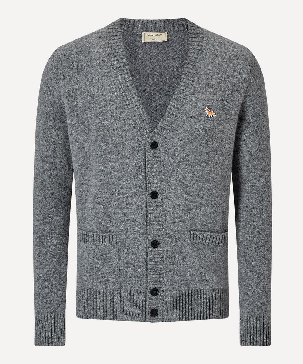 Maison Kitsuné - Fox Patch Wool Cardigan