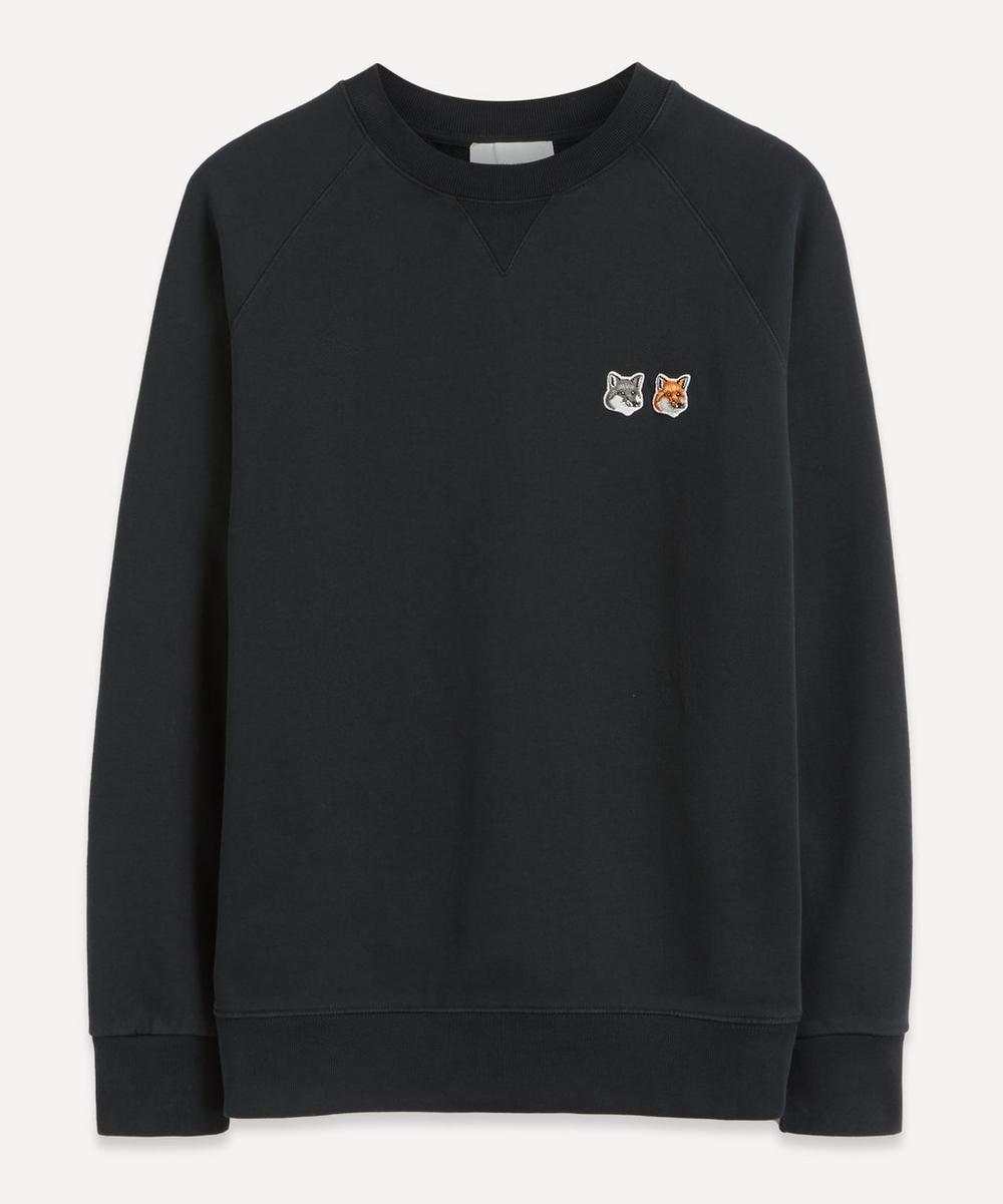 Maison Kitsuné - Double Fox Head Patch Sweater