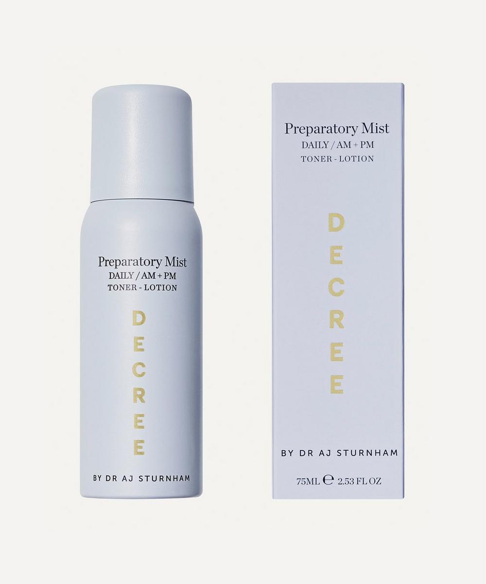 Decree - Preparatory Mist 75ml