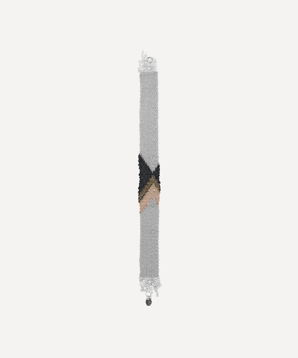 Stephanie Schneider - Silver Silk Chain Bracelet