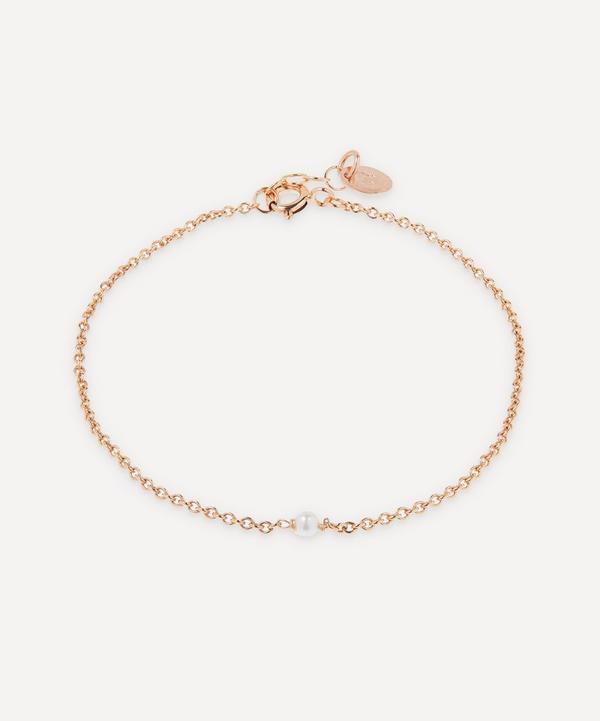 Stephanie Schneider - Rose Gold-Plated Akoya Pearl Bracelet