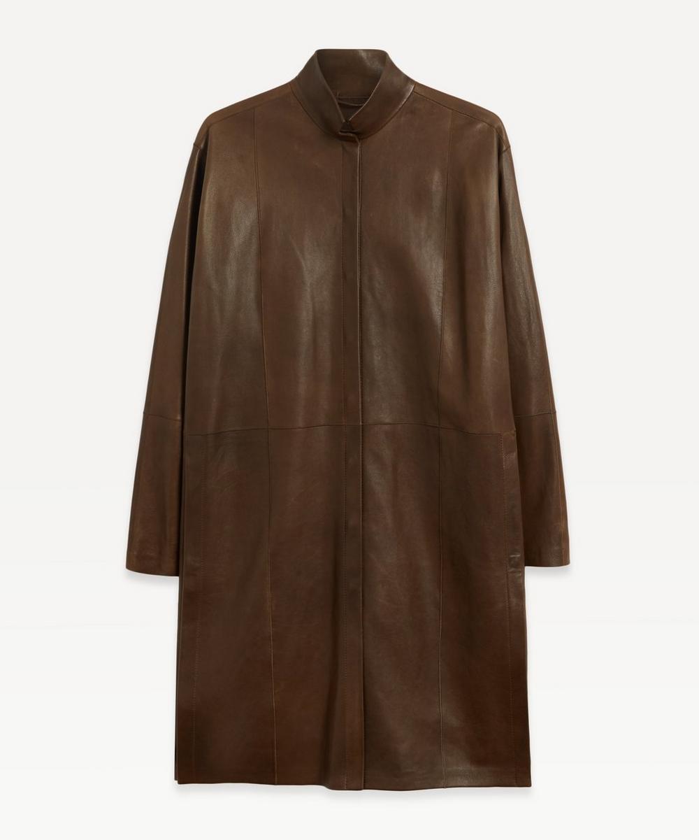 Annette Görtz - Tiago Leather Overshirt Jacket