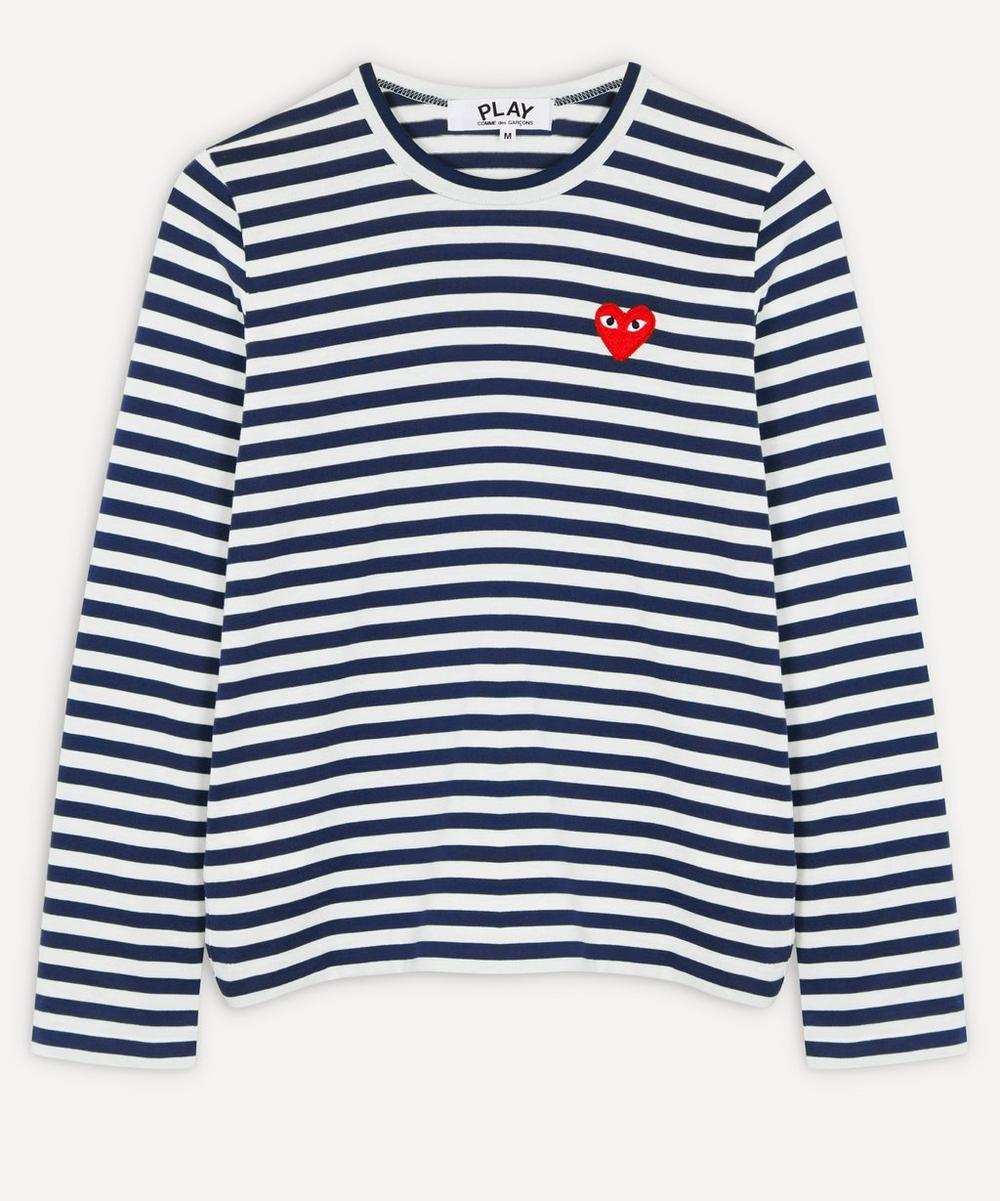 Comme des Garçons Play - Striped Long-Sleeve T-Shirt
