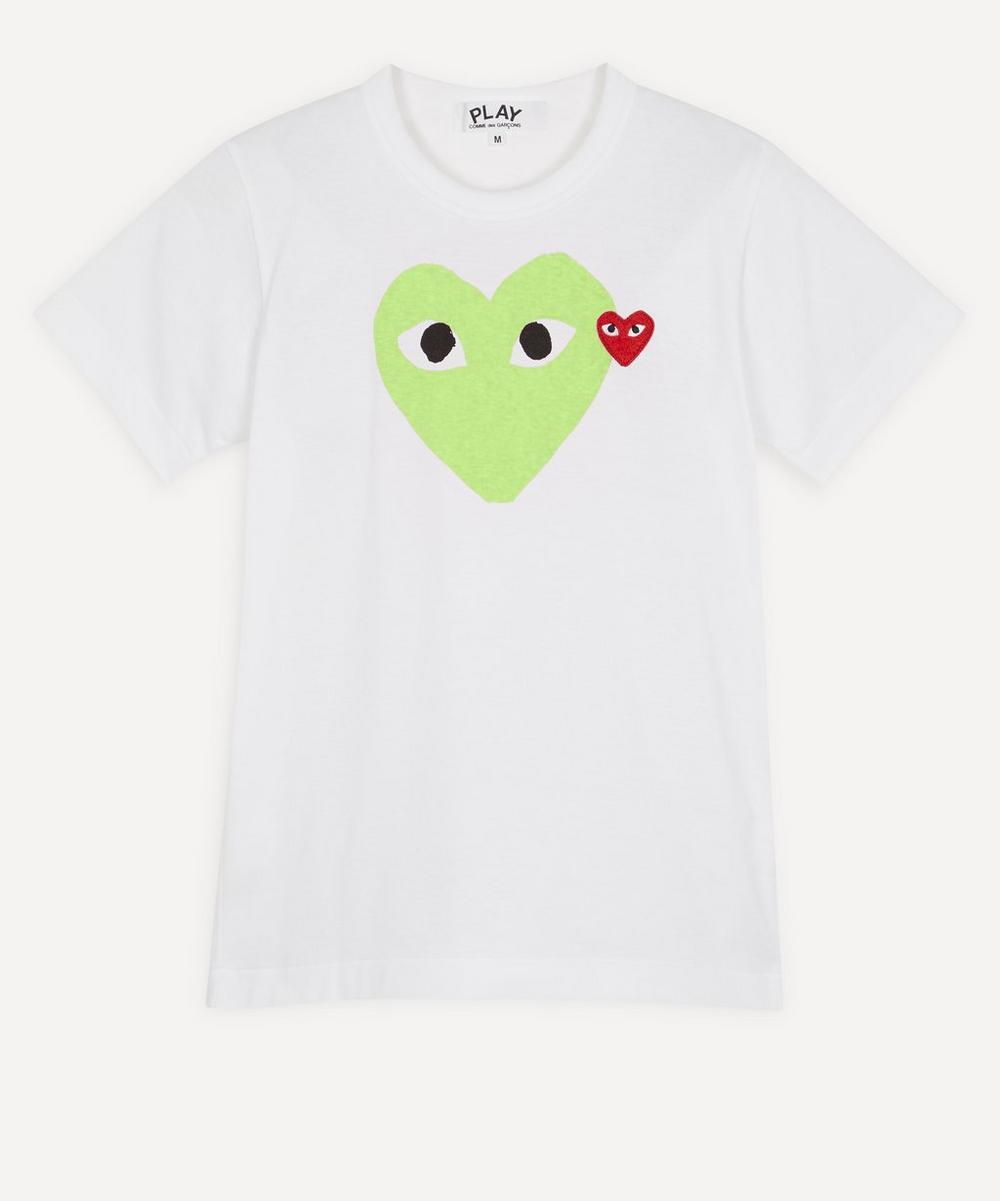 Comme des Garçons Play - Two Heart T-Shirt