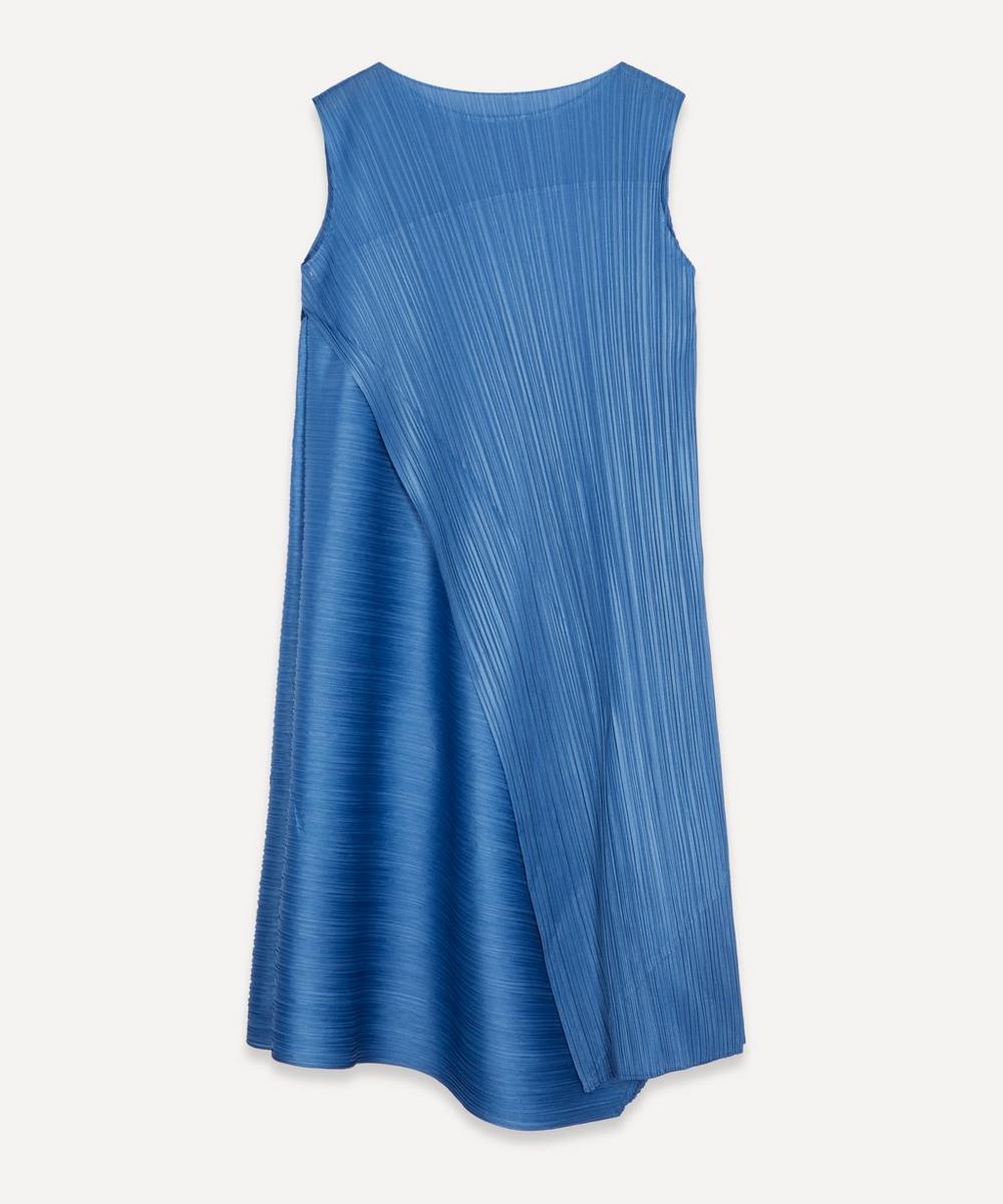 Pleats Please Issey Miyake - Sleeveless Folded Midi-Dress