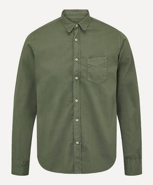 Lipp Stitch Pigment-Dyed Twill Shirt