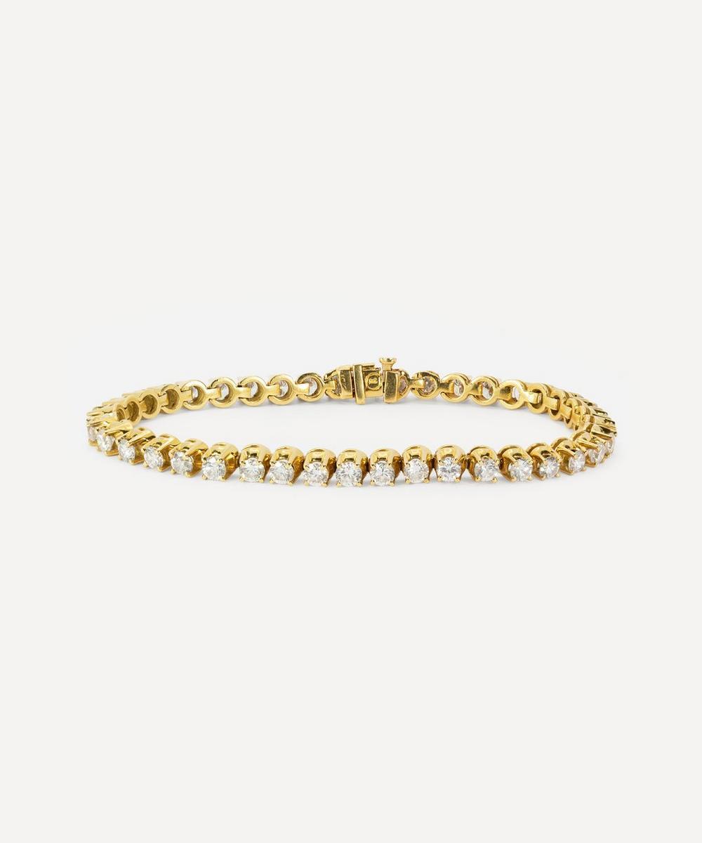 Kojis - Gold Diamond Tennis Bracelet