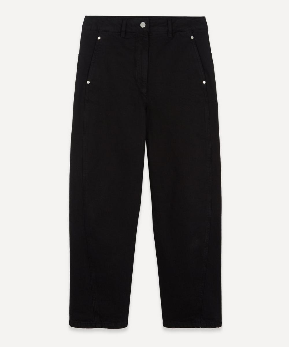 Lemaire - High-Rise Twisted Jeans