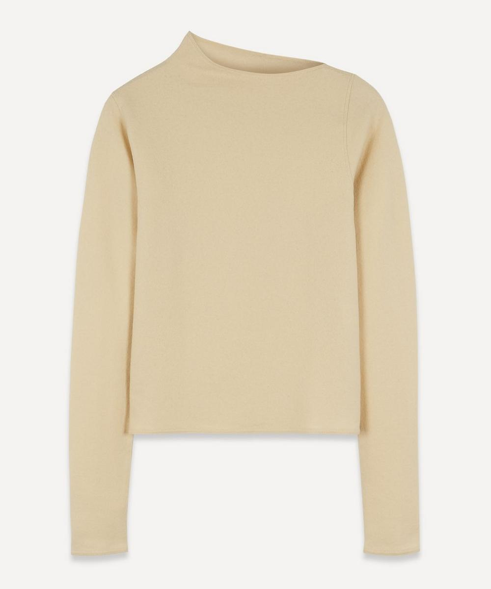 Lemaire - Asymmetric-Neck Wool-Jersey Sweater