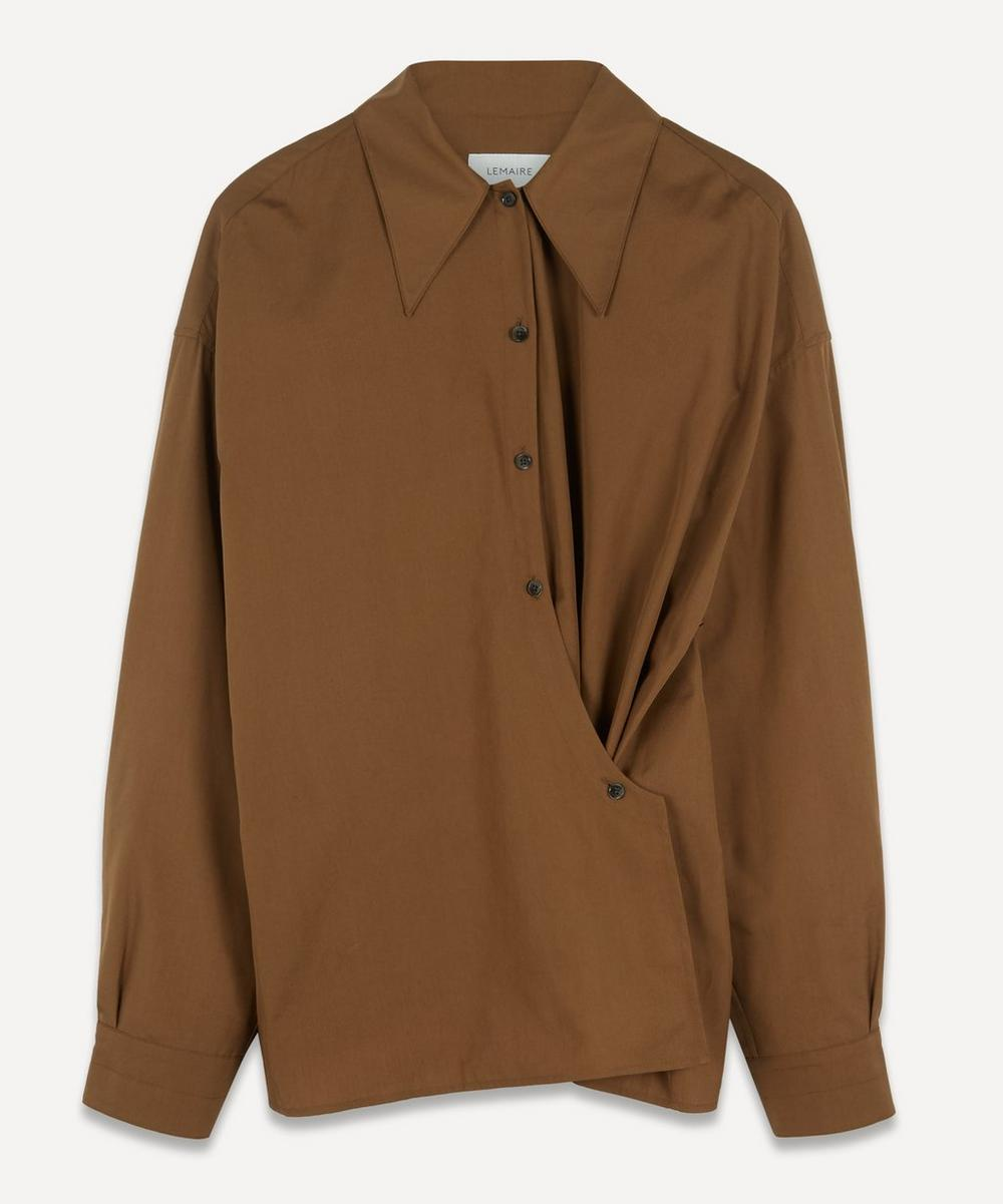Lemaire - Asymmetric Cotton-Poplin Shirt