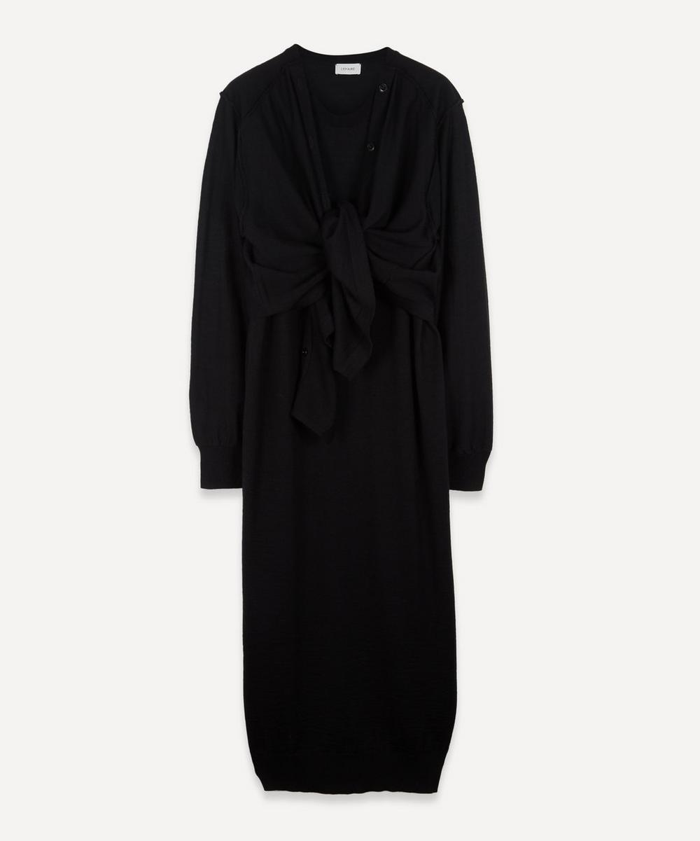 Lemaire - Layered Wool-Blend Cardigan Dress