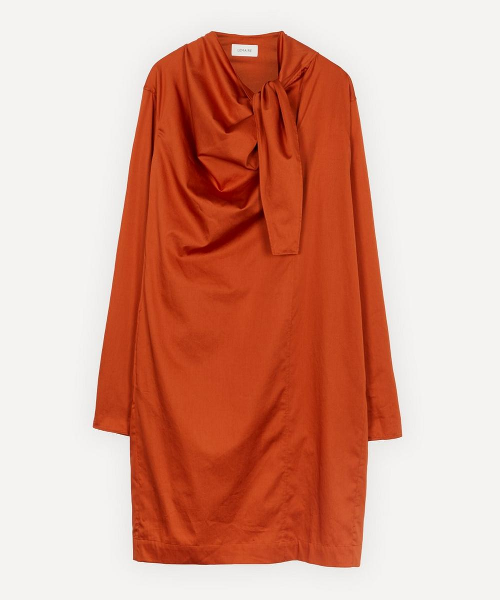 Lemaire - Asymmetrical Tie Dress