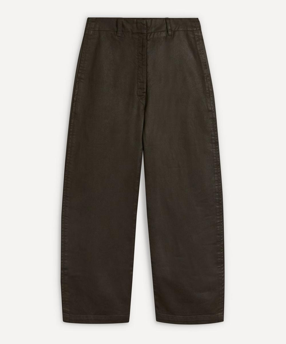 Lemaire - Coated Denim Curved Trousers
