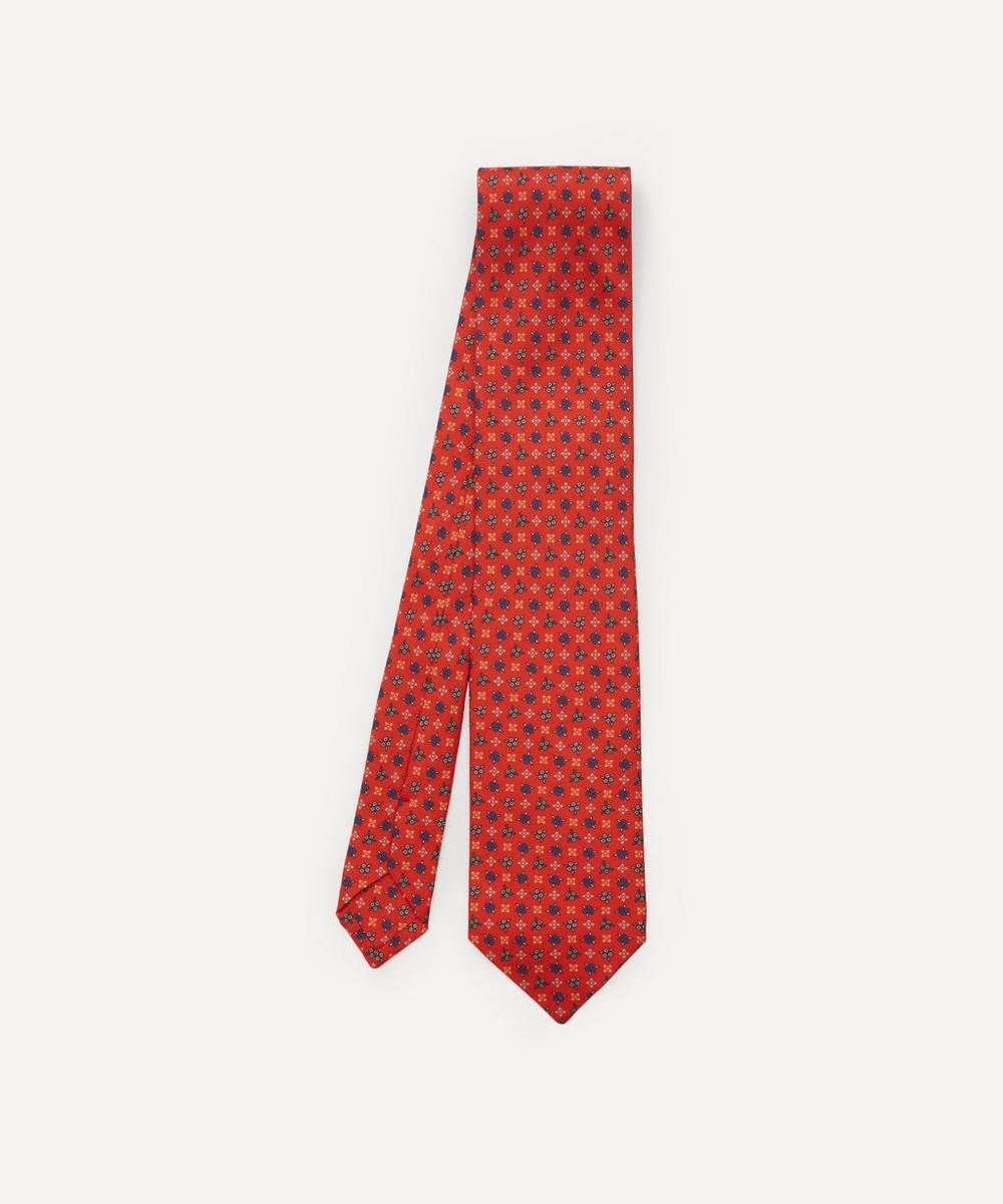 Liberty - Mobberley Printed Silk Tie