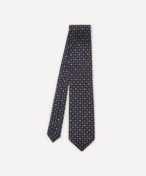 Mobberley Printed Silk Tie