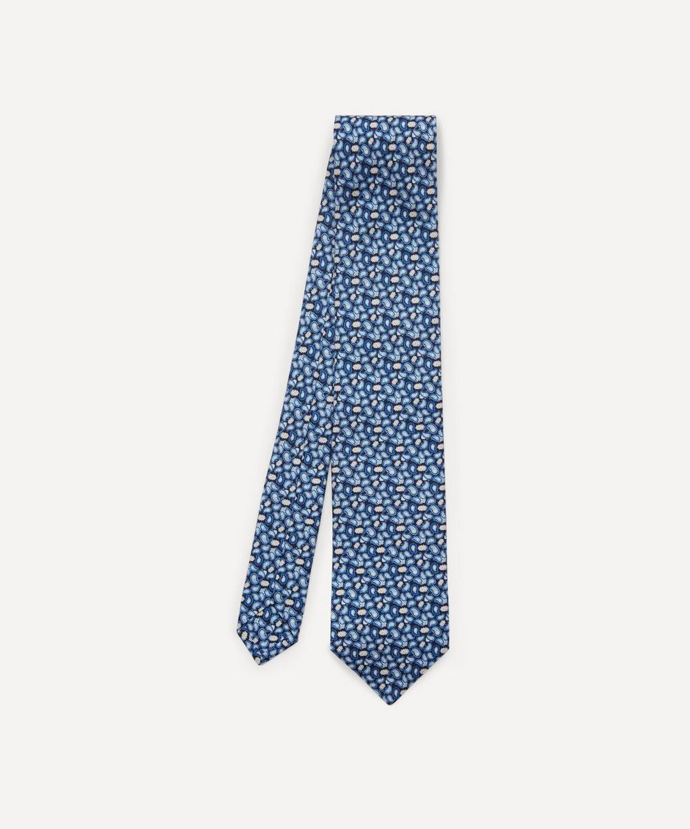 Liberty - Heaton Printed Silk Tie