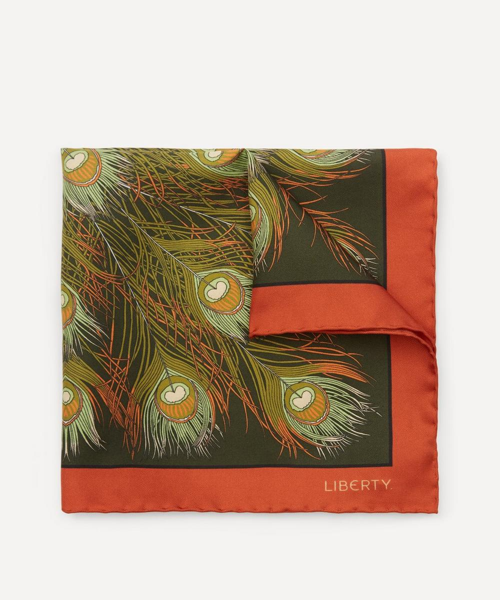 Liberty - Elsworth Printed Silk Pocket Square