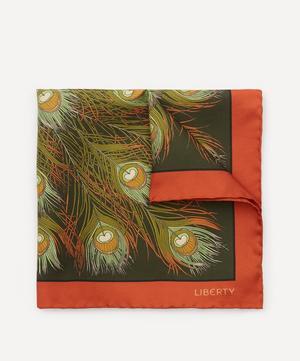 Elsworth Printed Silk Pocket Square