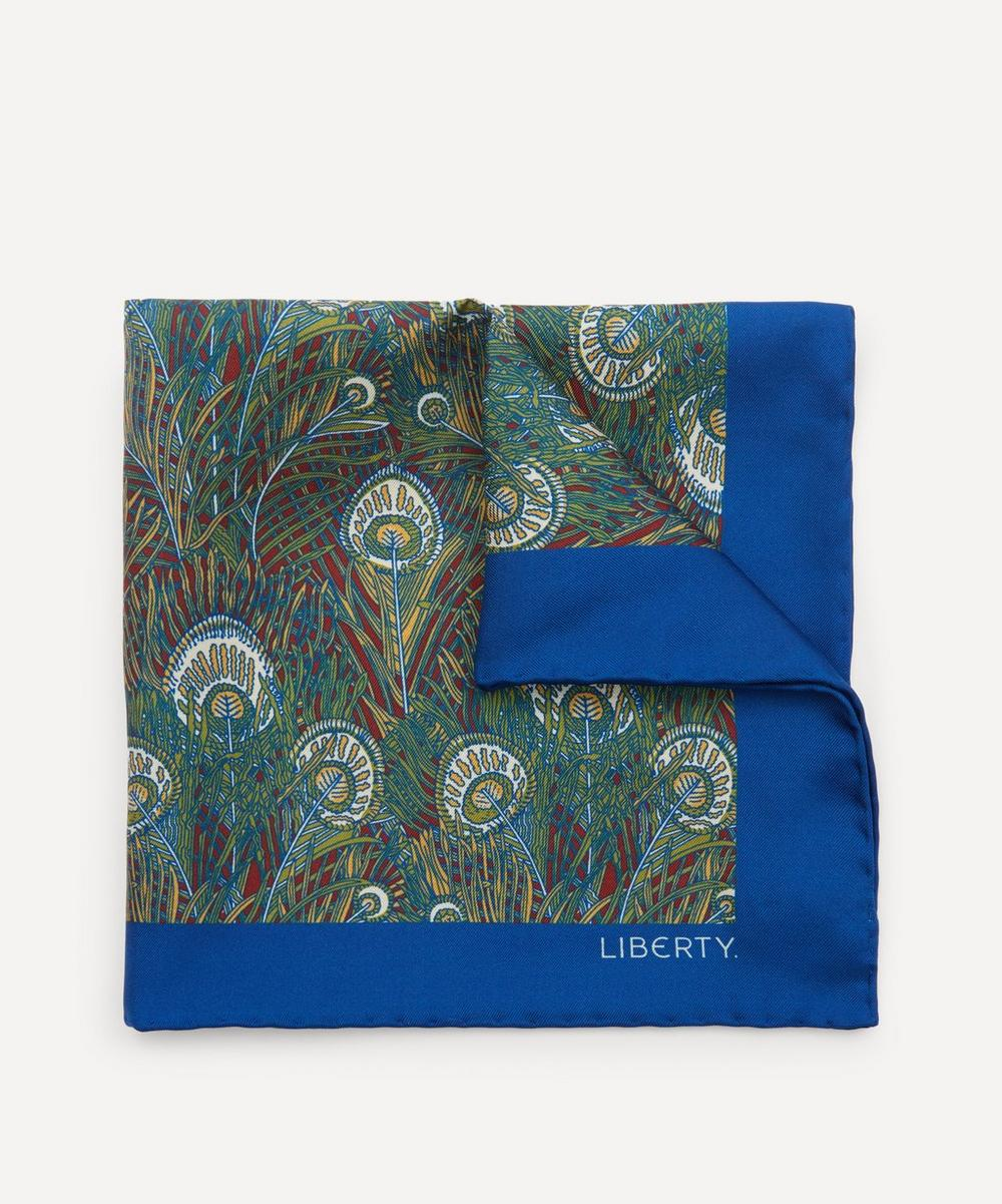 Liberty - Astbury Printed Silk Pocket Square