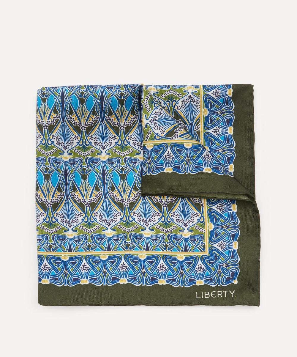 Liberty - Rudyard Printed Silk Pocket Square