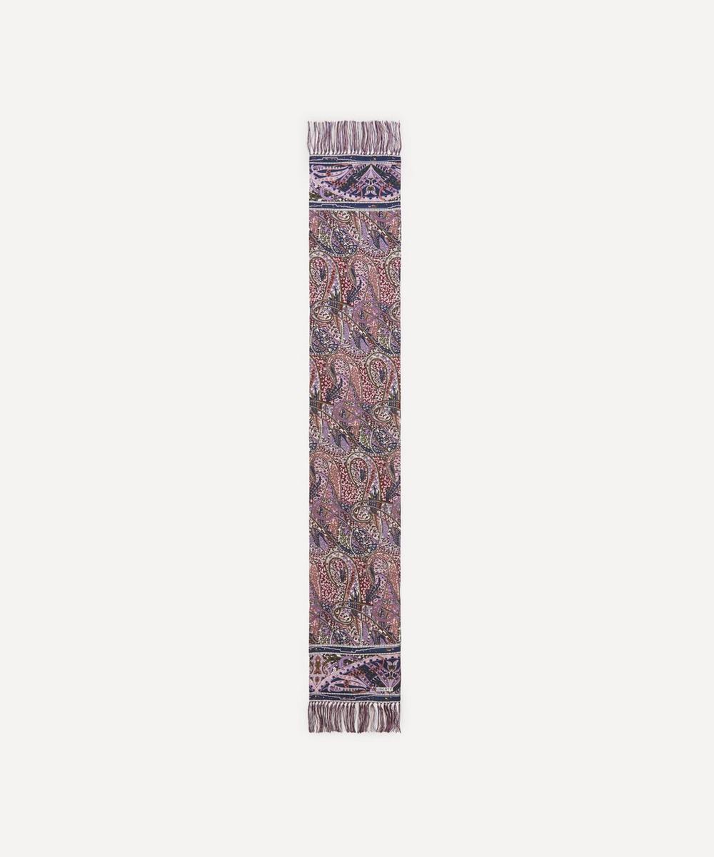 Liberty - Marton Printed Silk Fringed Scarf